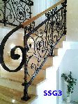 Wrought Iron Belgrade - Staircases_51