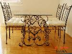 Wrought Iron Belgrade - Tables and chairs_19