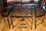 Wrought Iron Belgrade - Tables and chairs_55